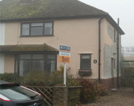 A small property near Southend